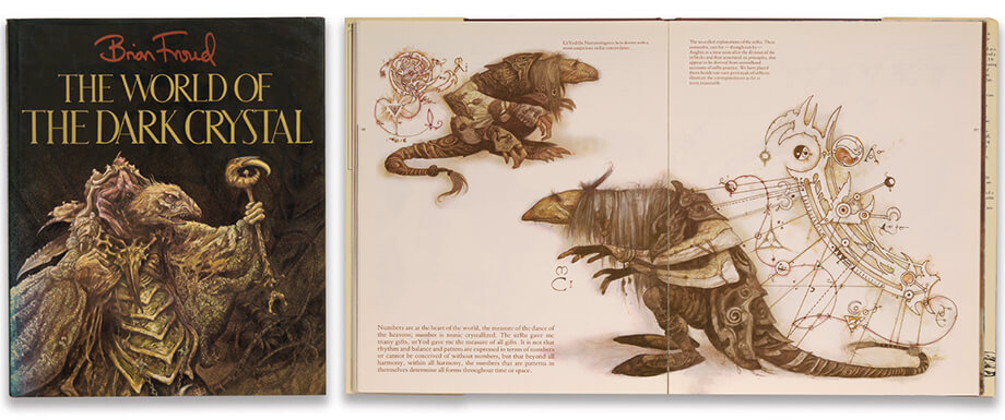 The World of the Dark Crystal illustration 16, part of our work for Books