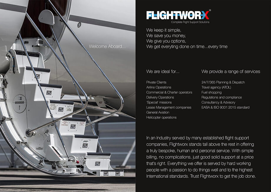12 page brochure illustration 19, part of our work for Flightworx