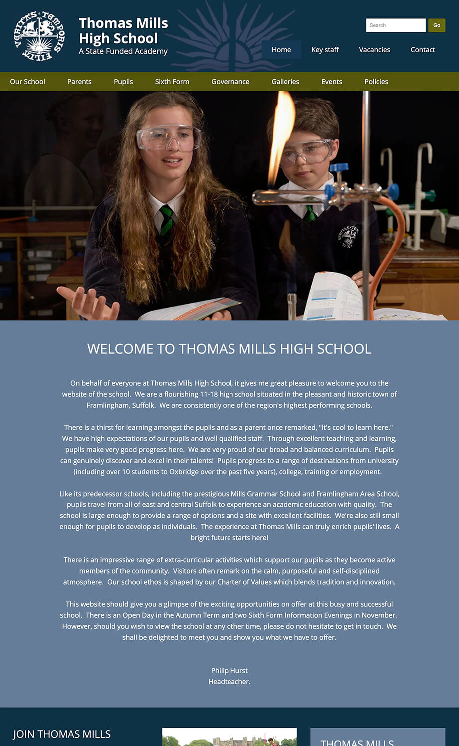 Thomas Mills High School illustration 13, part of our work for Schools