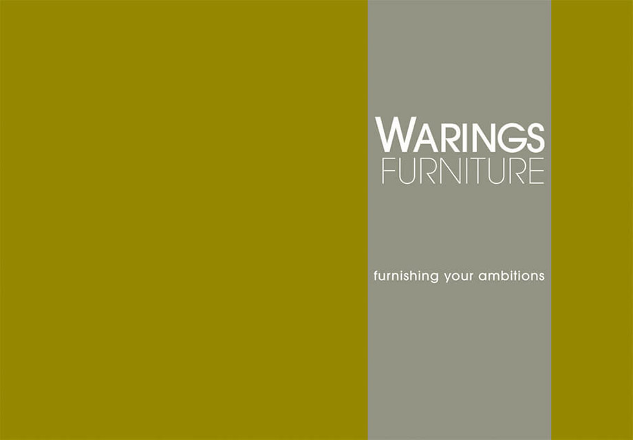 Brochures illustration 8, part of our work for Warings Furniture
