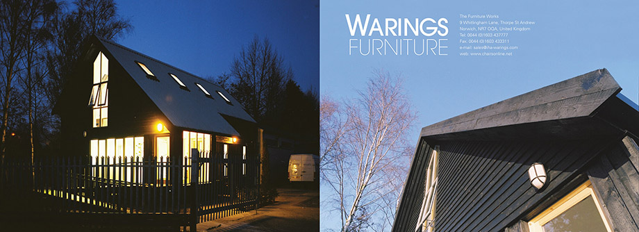 Brochures illustration 9, part of our work for Warings Furniture